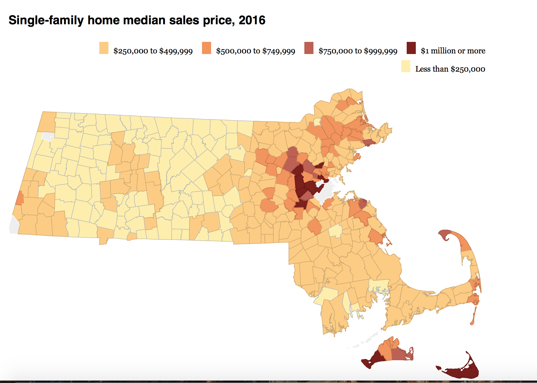 A Familiar Story – Sellers Still in the Driver's Seat in MA